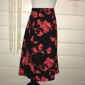 NWT floral skirt